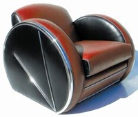 Art Deco Style Club Chair (c.1930s)