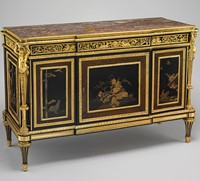 Commode 1790 Louis Xvi Style By Cabinet Maker Adam Weisweiler