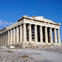 the parthenon 447 422 athens a treasury of greek architecture full of ...