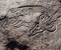 mesolithic art in india