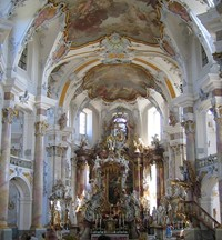 Holy Helpers Bad Staffelstein Bavaria Designed By Balthasar Neumann It Was Built 1743 72 An Excellent Example Of Late Baroque German Architecture