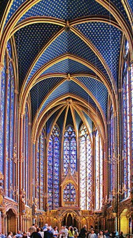 Example Of Religious Art From The High Gothic Note Thin Wall Supports And Huge Expanse Stained Glass