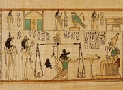 This painting best illustrates what characteristic of egyptian art