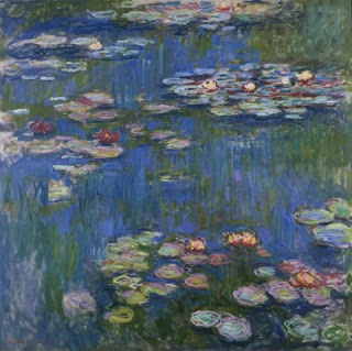 Water Lilies Paintings at Giverny, Claude Monet: Analysis