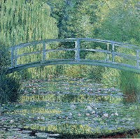 Water Lily Pond (1899), Claude Monet: Analysis