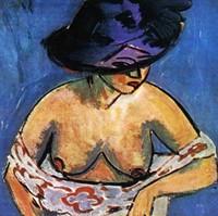 nudes German expressionist