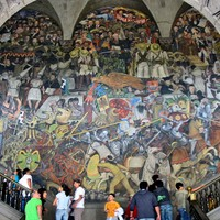 Mexican murals painting movement in mexico led by diego for El mural guadalajara