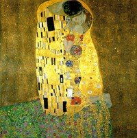 Klimt style painting
