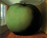 an analysis of surrealistic painting time by rene margritte Time transfixed 1938 realistic painting style that reflected his early training in commercial art in explaining time transfixed, magritte said.