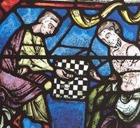 Stained Glass Window 12th Century Chartres Cathedral 1194 1250