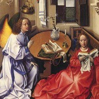 Merode Altarpiece by Robert Campin