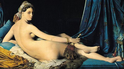 Dominique ingres the grand odalisque