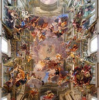 Baroque art definition styles history for Define mural painting