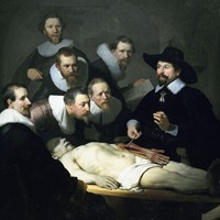 The Anatomy Lesson of Doctor Nicolaes Tulp by Rembrandt