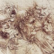 Chalk Drawing By Leonardo Da Vinci