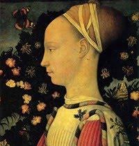 Portrait Of Ginevra DEste 1434 Louvre Paris A Masterpiece Early Renaissance Art